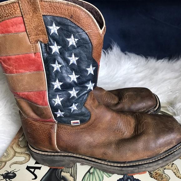 Rockin Leather Brown Leather American